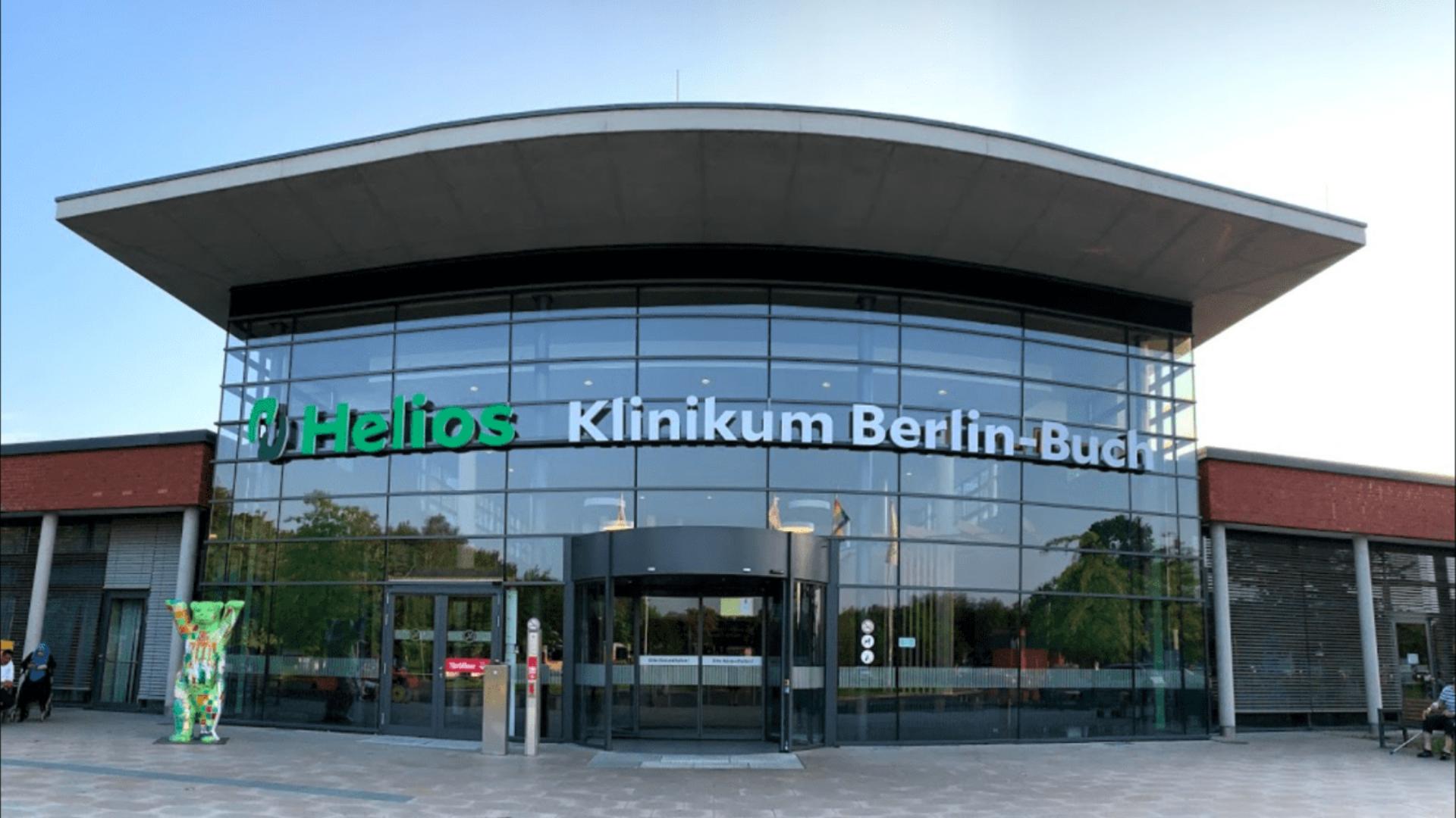 Клиника Helios Берлин Бух