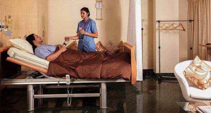 Отделение неотложной помощи в Global Hospital Chennai