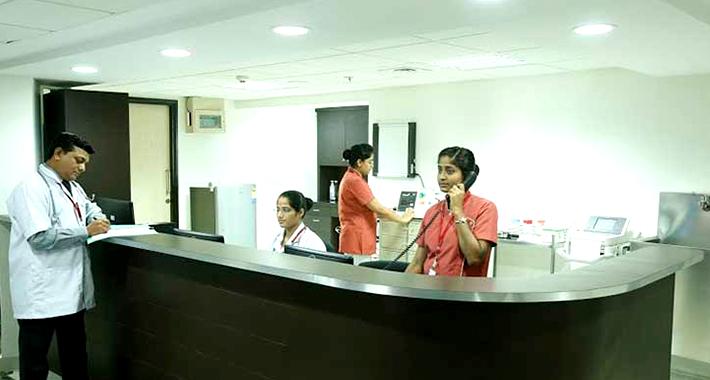 Отделение иностранных пациентов в Вокхардте